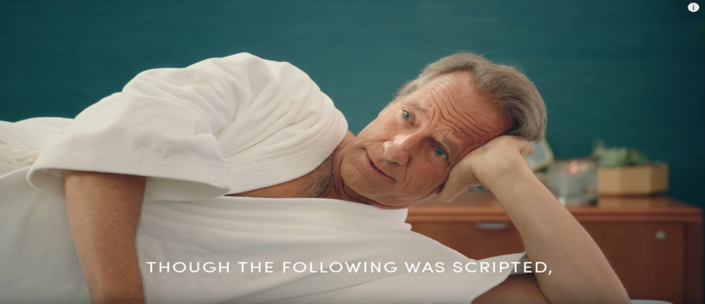 Il video dell'esame alla prostata di Mike Rowe